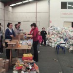 Empaquetando alimentos