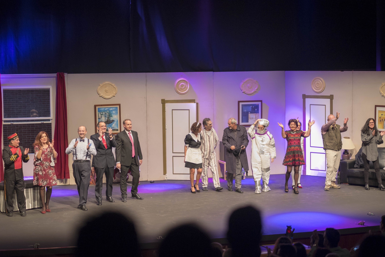Elenco de actores de la obra de teatro